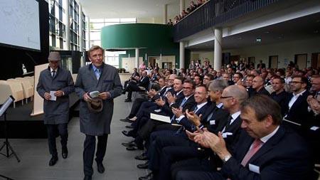 Klinikum Krefeld Eröffnung