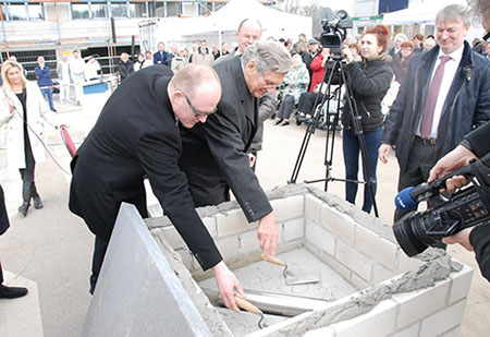 Grundsteinlegung Duisburg
