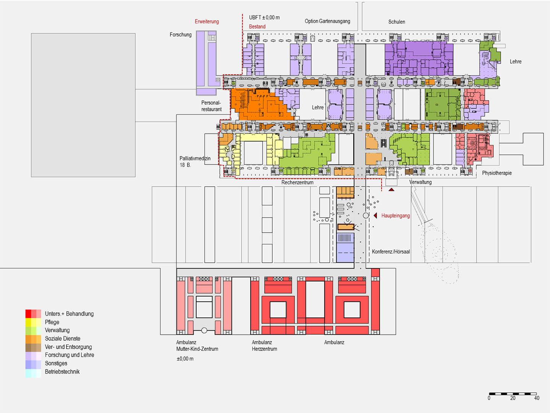 ludes universit tsklinikum aachen masterplan. Black Bedroom Furniture Sets. Home Design Ideas