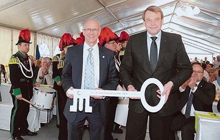 Einweihung Klinikum Crailsheim
